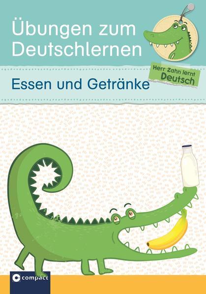 Übungen zum Deutschlernen - Essen und Getränke - Coverbild