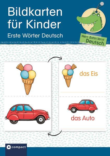 Bildkarten für Kinder - Erste Wörter Deutsch - Coverbild