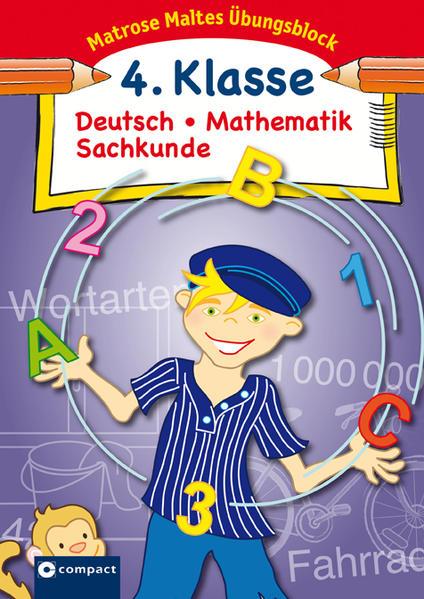 Matrose Maltes Übungsblock Deutsch/Mathematik/Sachkunde 4. Klasse - Coverbild