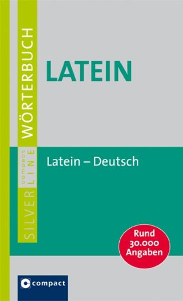 Latein-Deutsch - Coverbild