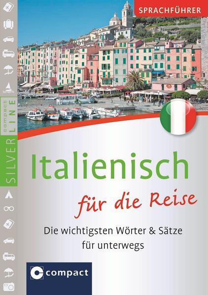 Sprachführer Italienisch für die Reise. Compact SilverLine - Coverbild
