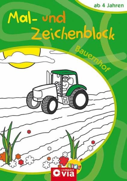 Mal- und Zeichenblock Bauernhof - Coverbild