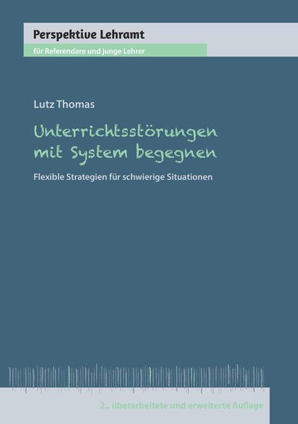 Unterrichtsstörungen mit System begegnen - Coverbild
