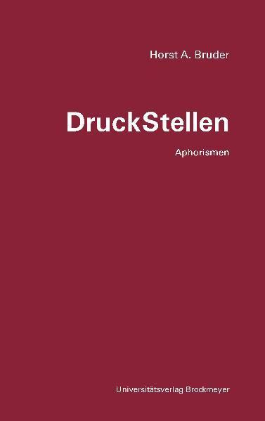 DruckStellen. - Coverbild