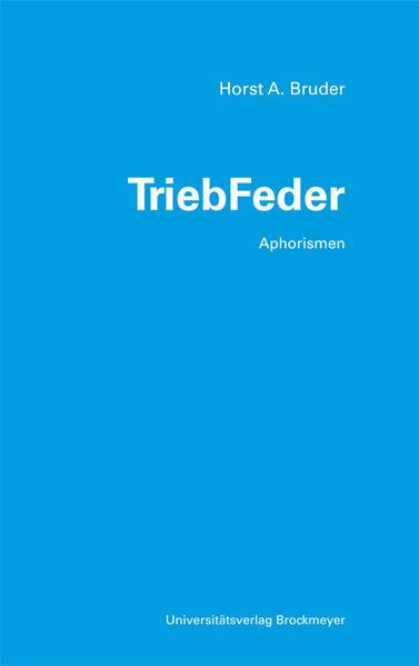 TriebFeder - Coverbild