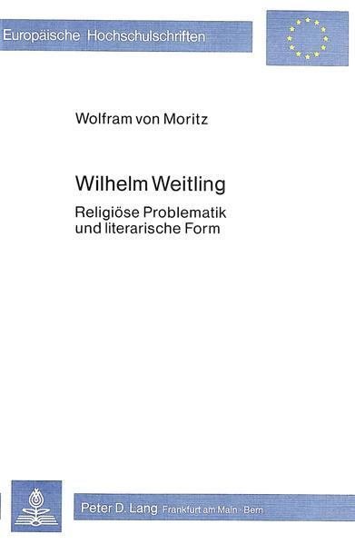 Wilhelm Weitling - Coverbild