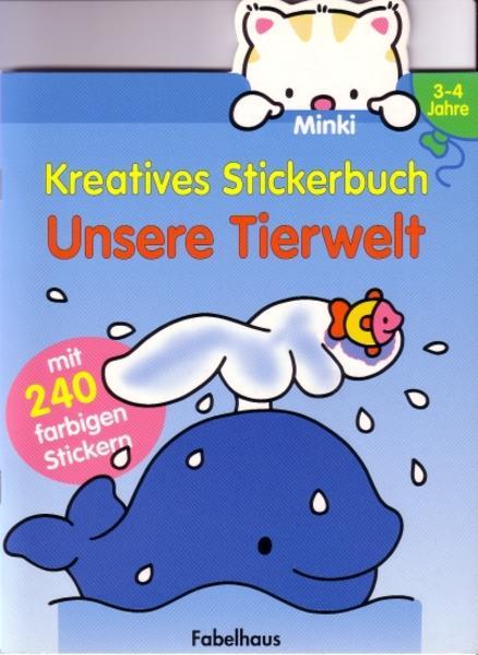 Minki Kreatives Stickerbuch - Coverbild