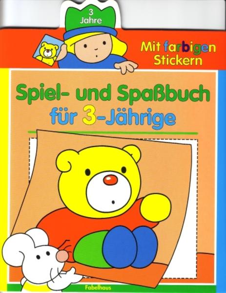 Spiel- und Spassbuch - Coverbild