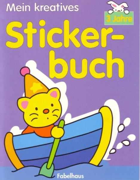 Mein kreatives Stickerbuch - Coverbild