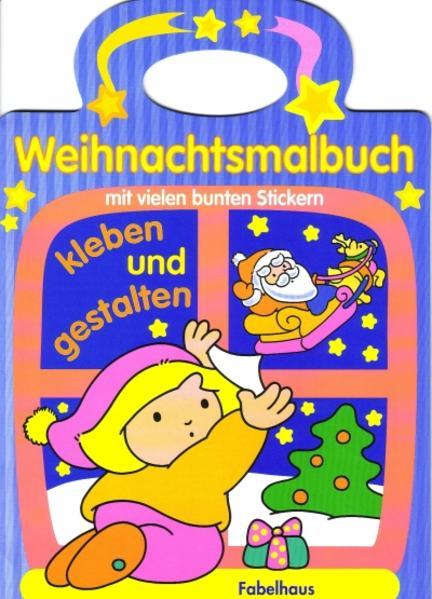 Weihnachtsmalbuch - Coverbild