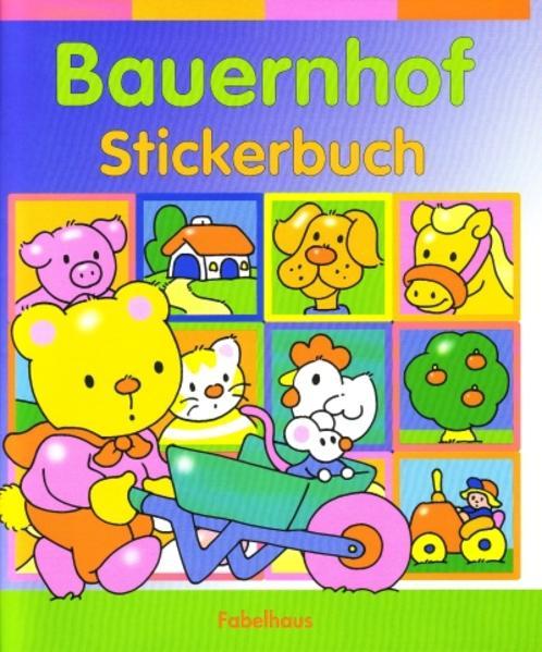 Bauernhof Stickerbuch - Coverbild