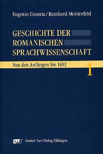 Geschichte der romanischen Sprachwissenschaft - Coverbild