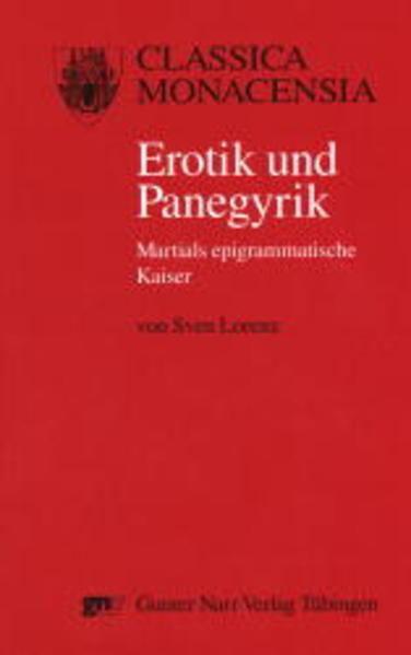 Erotik und Panegyrik - Coverbild