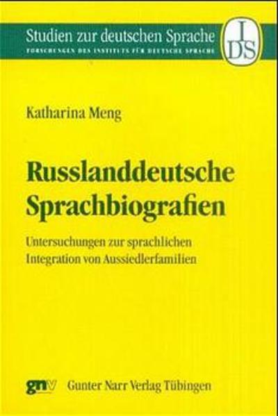 Russlanddeutsche Sprachbiographien - Coverbild