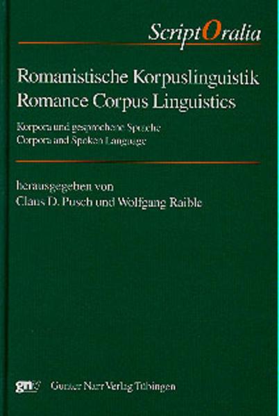 Romanistische Korpuslinguistik/Romance Corpus Linguistics - Coverbild