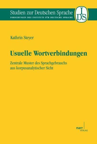 Usuelle Wortverbindungen - Coverbild