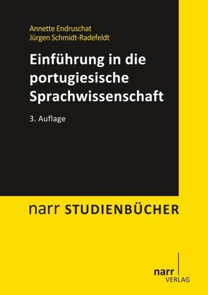 Einführung in die portugiesische Sprachwissenschaft - Coverbild