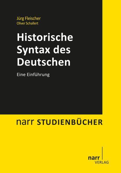 Download Historische Syntax des Deutschen Epub Kostenlos
