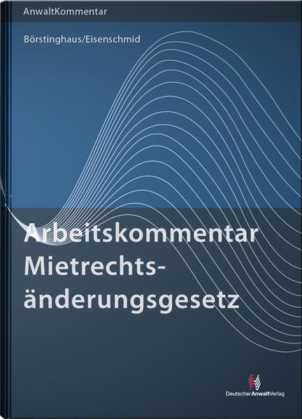 ArbeitsKommentar Mietrechtsänderungsgesetz - Coverbild