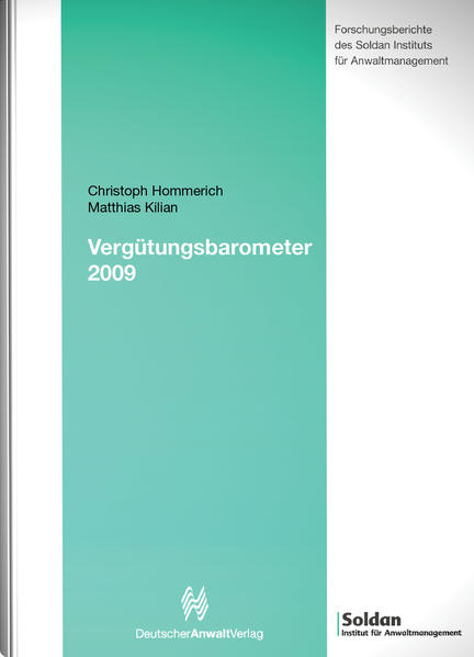 Vergütungsbarometer 2009 - Coverbild