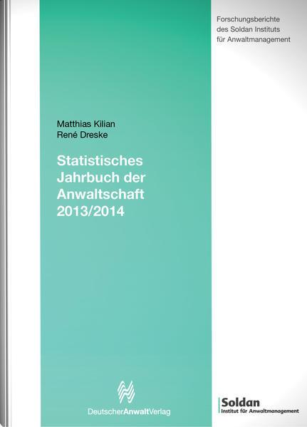 Statistisches Jahrbuch der Anwaltschaft  2013/2014 - Coverbild