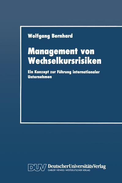Management von Wechselkursrisiken - Coverbild