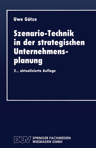 Szenario-Technik in der strategischen Unternehmensplanung - Coverbild