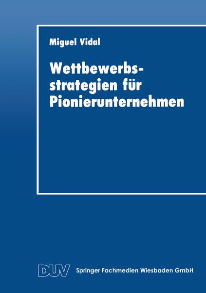 Wettbewerbsstrategien für Pionierunternehmen - Coverbild