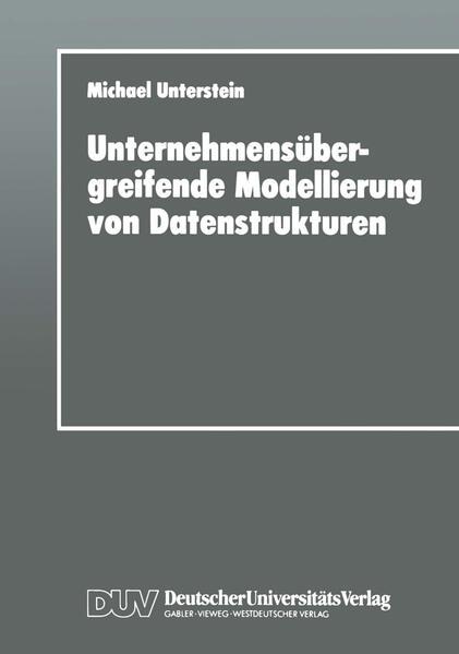 Unternehmensübergreifende Modellierung von Datenstrukturen - Coverbild