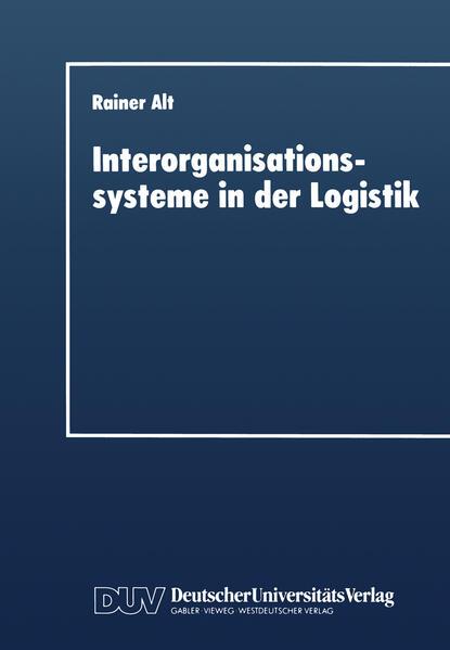 Interorganisationssysteme in der Logistik - Coverbild