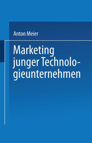 Marketing junger Technologieunternehmen - Coverbild