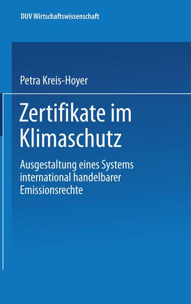 Zertifikate im Klimaschutz - Coverbild