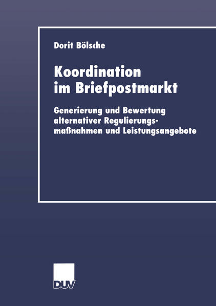 Koordination im Briefpostmarkt - Coverbild