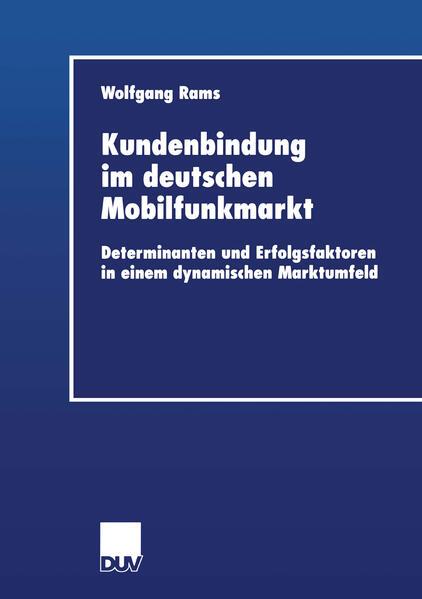 Kundenbindung im deutschen Mobilfunkmarkt - Coverbild
