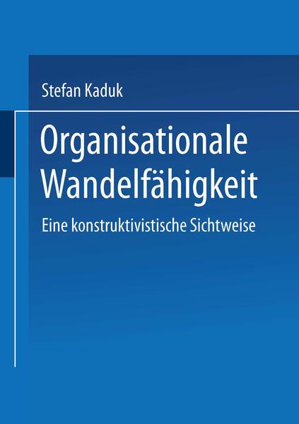 Organisationale Wandelfähigkeit - Coverbild