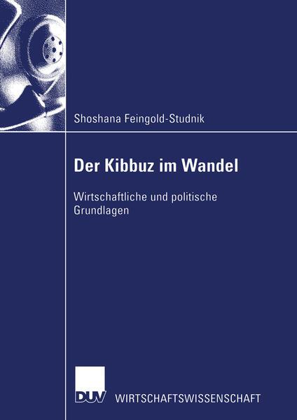 Der Kibbuz im Wandel - Coverbild