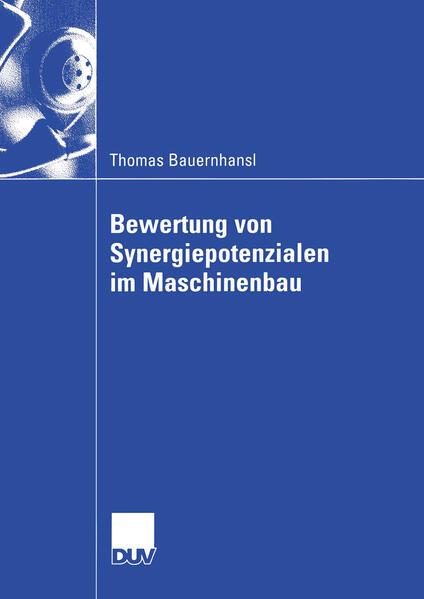 Bewertung von Synergiepotenzialen im Maschinenbau - Coverbild