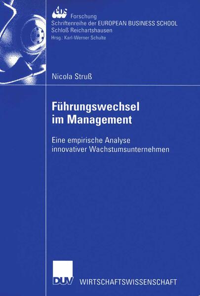 Führungswechsel im Management - Coverbild