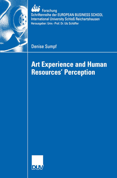 Art Experience and Human Resources' Perception - Coverbild