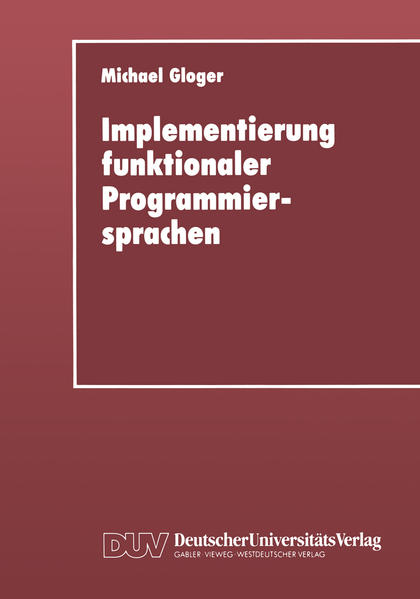 Implementierung funktionaler Programmiersprachen - Coverbild