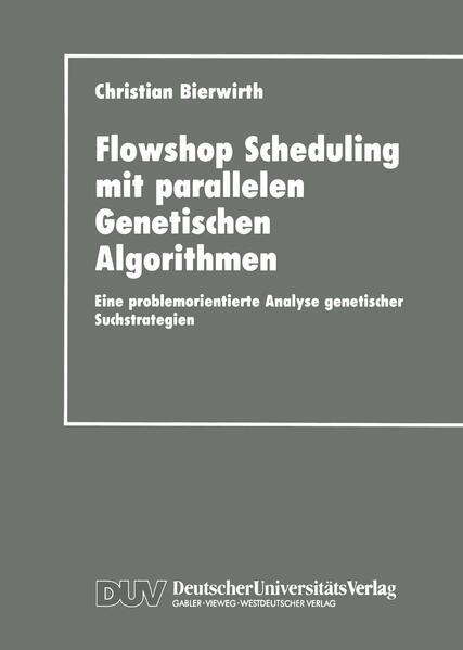 Flowhop Scheduling mit parallelen Genetischen Algorithmen - Coverbild