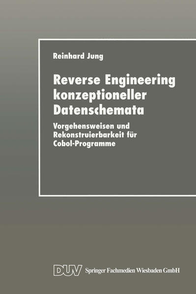 Reverse Engineering konzeptioneller Datenschemata - Coverbild