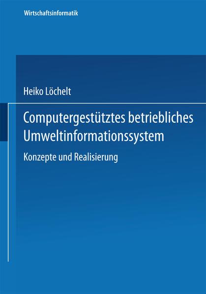 Computergestütztes betriebliches Umweltinformationssystem - Coverbild