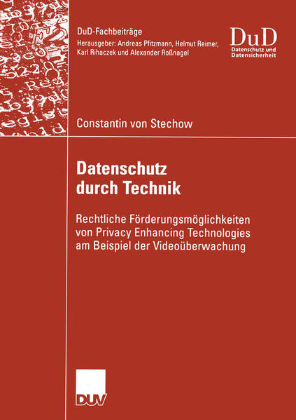 Datenschutz durch Technik - Coverbild