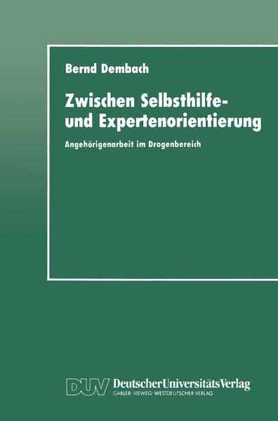Zwischen Selbsthilfe- und Expertenorientierung - Coverbild
