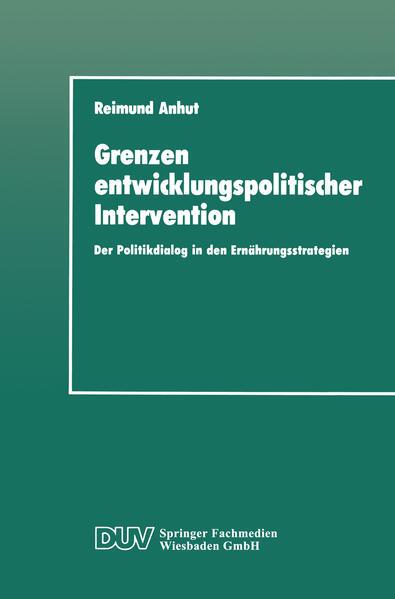 Grenzen entwicklungspolitischer Intervention - Coverbild