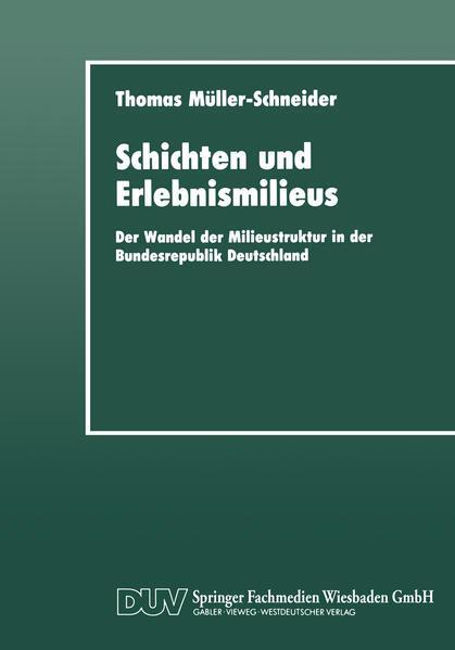 Schichten und Erlebnismilieus Epub Ebooks Herunterladen