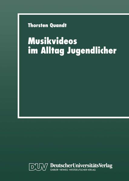 Musikvideos im Alltag Jugendlicher - Coverbild