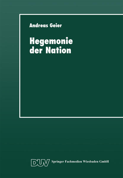 Hegemonie der Nation - Coverbild