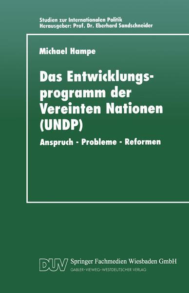 Das Entwicklungsprogramm der Vereinten Nationen (UNDP) - Coverbild